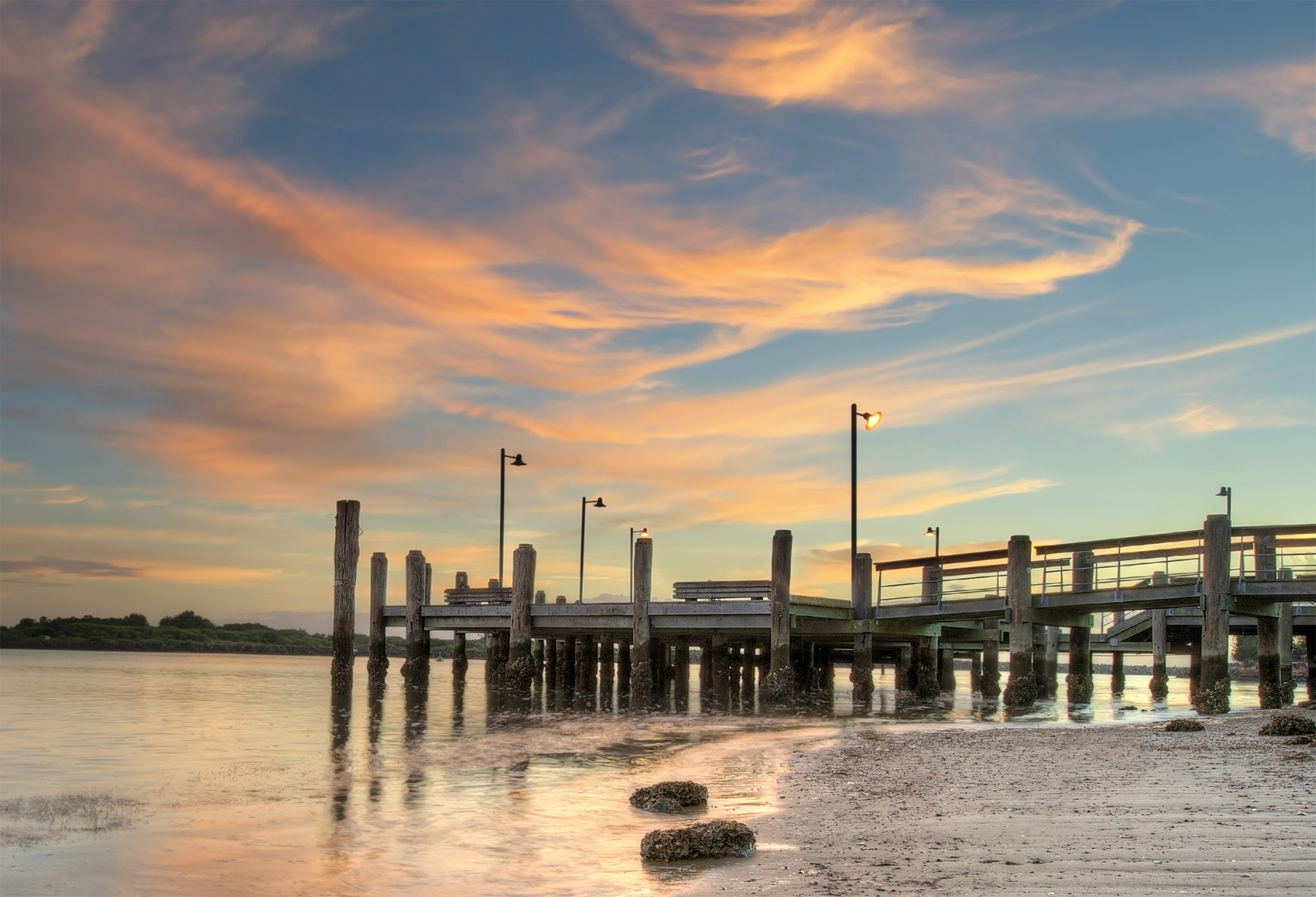 Port Macquarie Jetty Sunrise