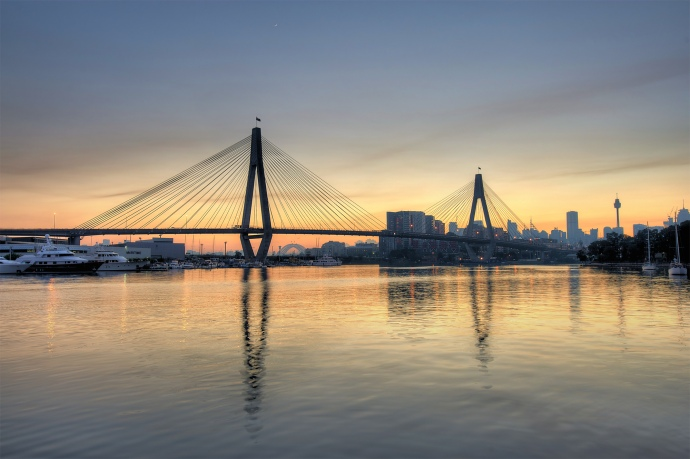 Anzac Bridge Sunrise