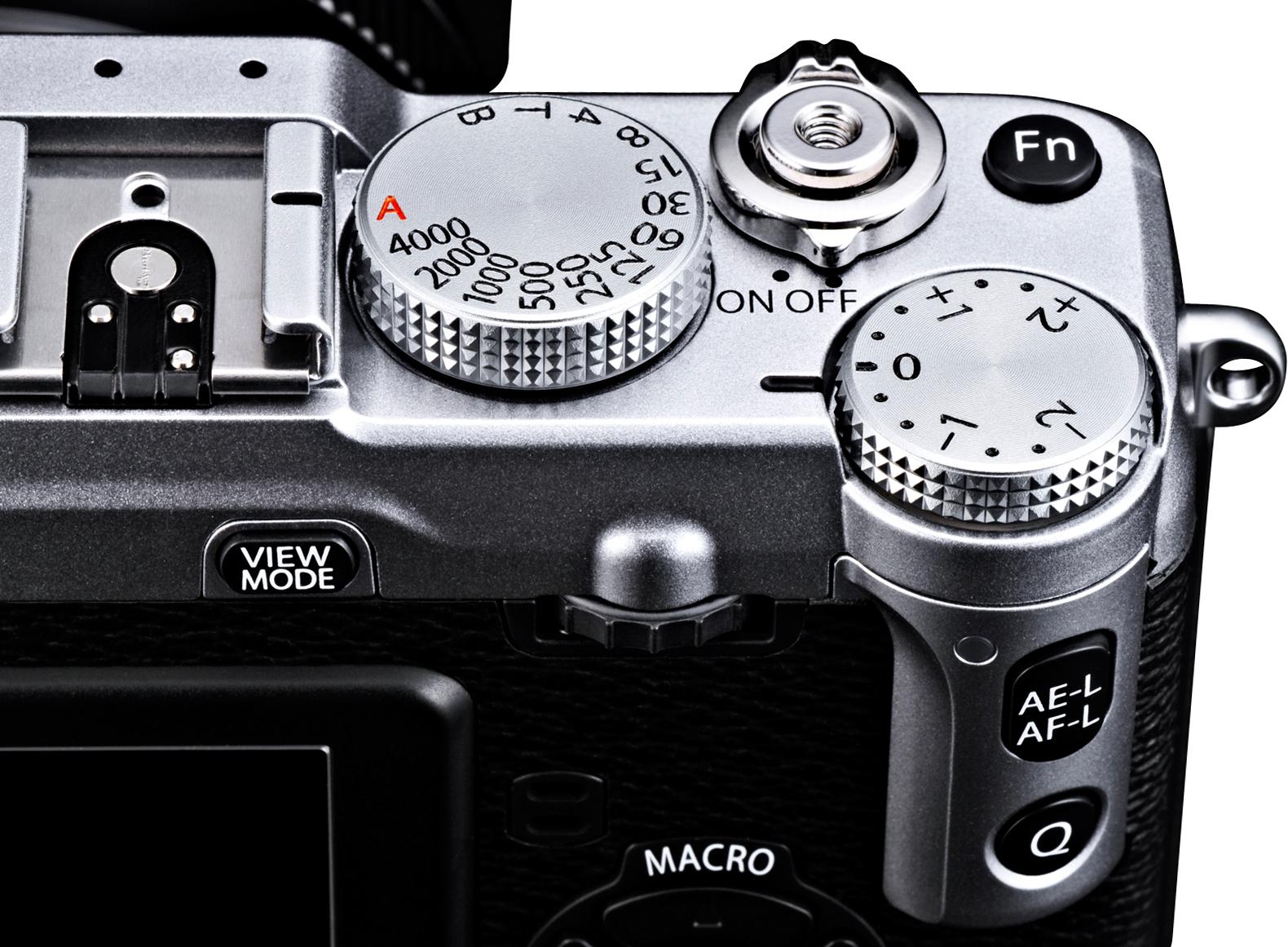 Fuji X-E1 Controls
