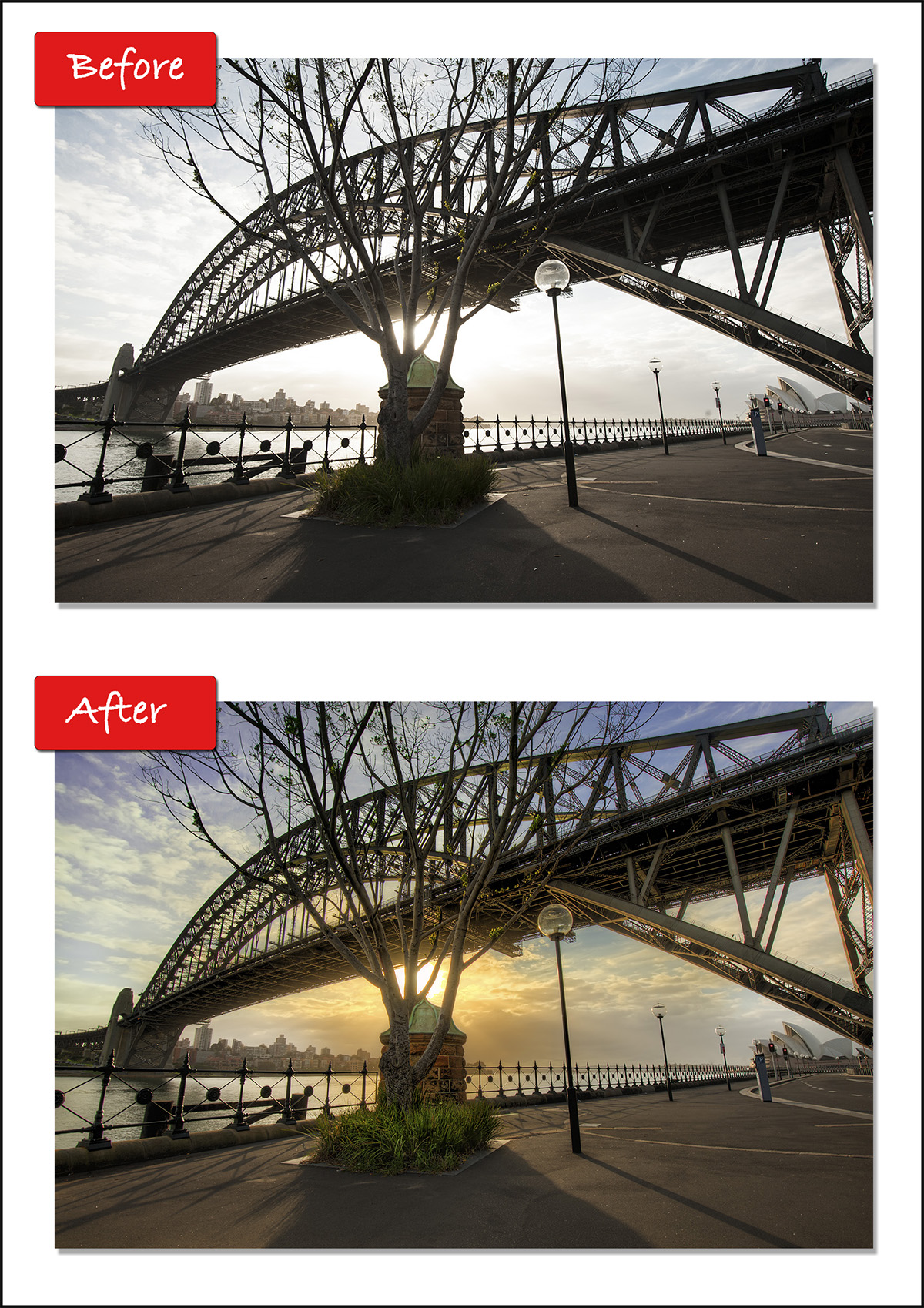 HDR Before and After